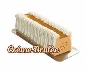 Prøv også Isbilen dessertiskake med vanilje og creme brulee.