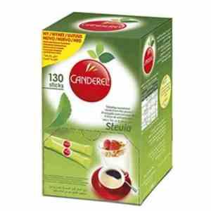 Prøv også Canderel Green Stevia.