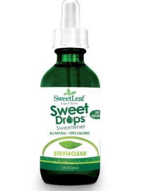 Prøv også SweetLeaf SteviaClear steviadråper.