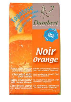 Prøv også Tagatose mørk sjokolade med appelsin 85 g.