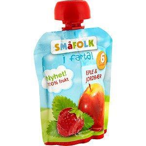 Prøv også Småfolk i farta eple og jordbær.