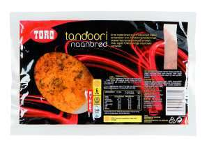 Prøv også Toro tandoori naanbrød.