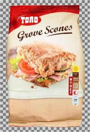Prøv også Toro grove scones.
