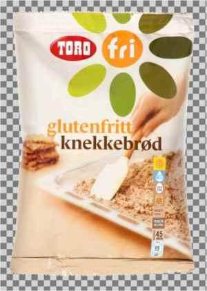 Prøv også Toro glutenfritt knekkebrød.
