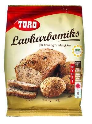 Prøv også Toro lavkarbomiks for brød og rundstykker.