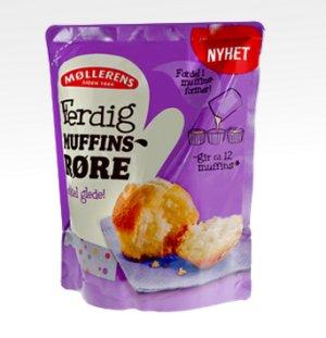 Prøv også Møllerens ferdig muffinsrøre.
