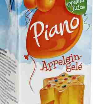 Prøv også Tine Piano appelsingele.