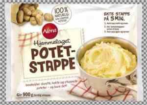 Prøv også Noras Hjemmelaget Potetstappe.