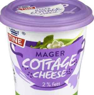 Prøv også Tine Mager Cottage Cheese.