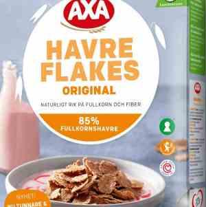 Prøv også Axa havreflakes.