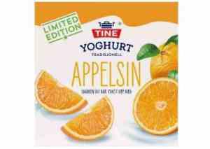 Prøv også TINE Yoghurt Vinterfrisk Appelsin.