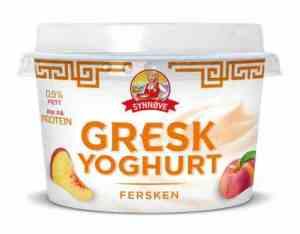 Prøv også Synnøve gresk yoghurt fersken.
