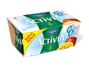 Prøv også Danone Activia 00 mango.