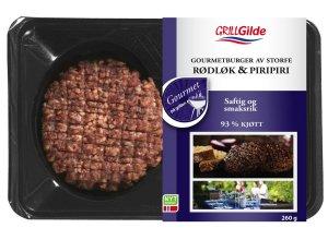 Prøv også Gilde Hamburgere av storfe rødløk og piripiri.