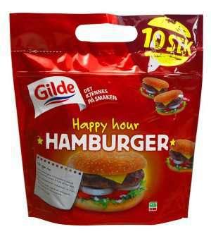 Prøv også Gilde Happy Hour burger.