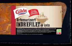Prøv også Gilde urtemarinert svin indrefilet.