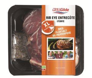 Les mer om Gilde Rib Eye entrecote storfe hos oss.
