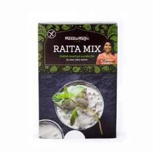 Prøv også Masalamagic Nirus raita miks.