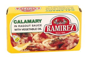 Prøv også Ramirez calamary i ragusaus.