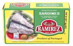 Prøv også Ramirez sardiner i tomatsaus.