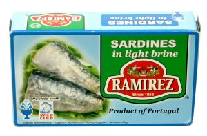 Prøv også Ramirez sardiner naturell.