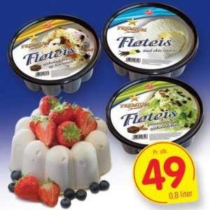 Prøv også Isbilen premium fløteis vanilje.