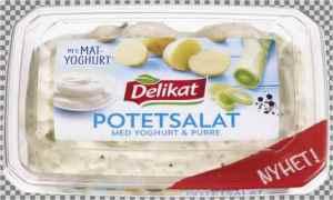 Prøv også Delikat potetsalat med yoghurt og purre.