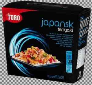 Prøv også Toro japansk teriyaki kit tillaget.