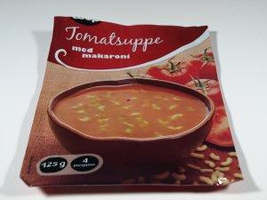 Prøv også Coop tomatsuppe med makaroni ferdiglagd.