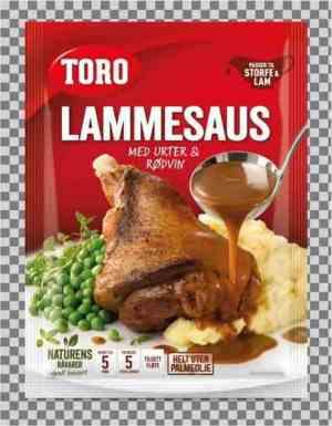 Prøv også Toro lammesaus med urter og rødvin.