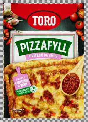 Prøv også Toro pizzafyll med hvitløk og søt chili.