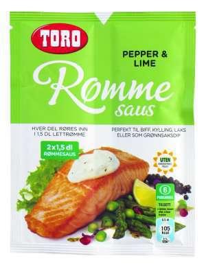 Prøv også TORO Rømmesaus med pepper & Lime.