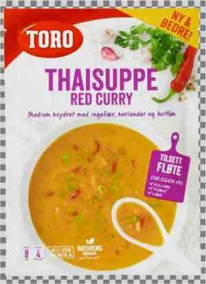 Prøv også Toro Thai red currysuppe.