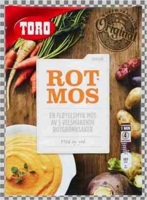 Prøv også Toro rotmos.