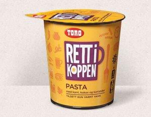 Prøv også Toro Rett i Koppen Pasta med karri og kokos.
