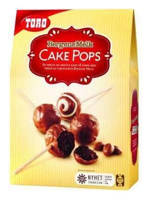 Prøv også Toro cake pops med bergene melk.