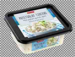 Prøv også Denja potetsalat tzatziki.