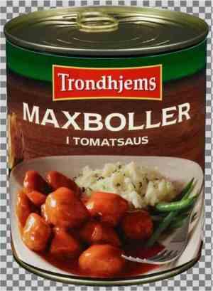 Les mer om Trondhjems maxboller i tomatsaus hos oss.