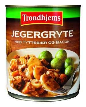 Les mer om Trondhjems Jegergryte med tytteb�r og bacon hos oss.