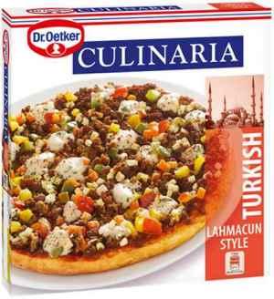 Prøv også DrOetker Culinaria Turkish Lahmacun Style.