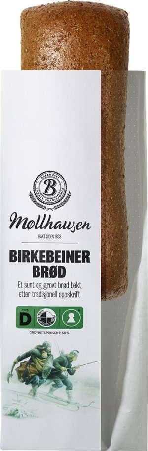 Les mer om Bakehuset M�llhausen birkebeinerbr�d hos oss.
