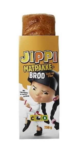 Prøv også Bakehuset Jippi matpakkebrød skåret.