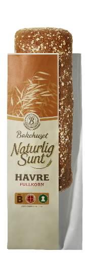 Prøv også Bakehuset naturlig sunt havrebrød.