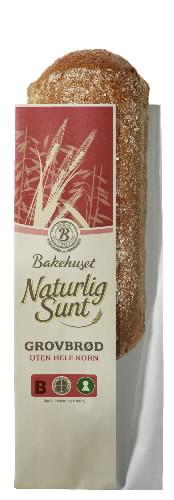 Prøv også Bakehuset Naturlig Sunt Grovbrød.