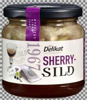 Prøv også Delikat Sherrysild.