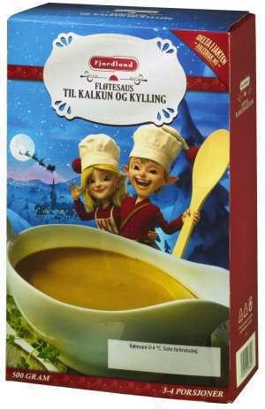 Prøv også Fjordland fløtesaus til kalkun.