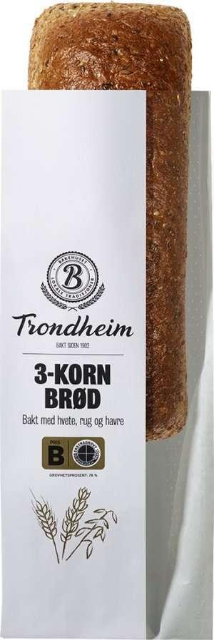 Prøv også Bakehuset trondheim 3-kornbrød.