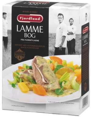 Prøv også Fjordland Lammebog med rotgrønnsaker og bakte potetskiver.
