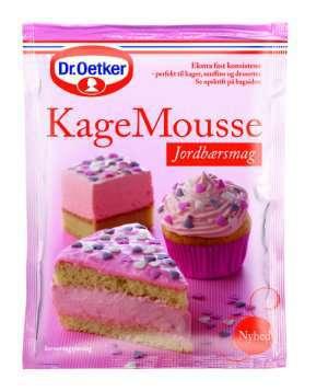 Prøv også DrOetker Kakemousse Jordbær.
