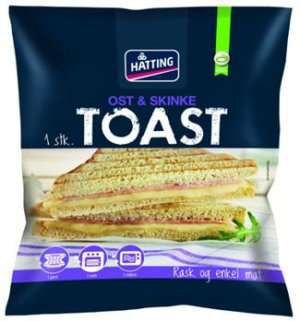 Prøv også Hatting Toast med ost og skinke.